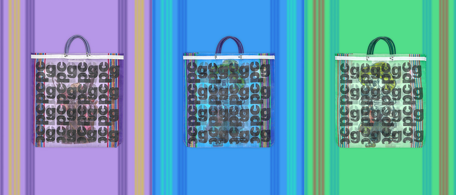 CDG Monogram Bags